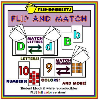 Flip and Match Flip Books