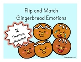 Flip and Match - Gingerbread Emotions