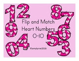 Flip and Match - Heart Numbers