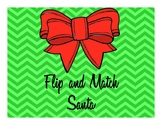 Flip and Match - Santa Shapes