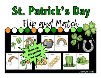 Flip and Match - St. Patrick's Day
