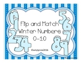 Flip and Match - Winter Numbers 1-10
