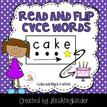 Read and Flip - CVCe Words