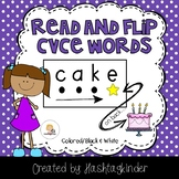 Read and Flip - CVCe Words