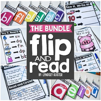 Flip and Read! {Phonics for the Year}