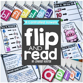 Flip and Read! {R-Controlled Vowels}