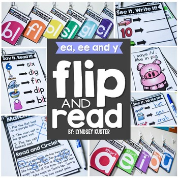 Flip and Read! {ea, ee, and -y}