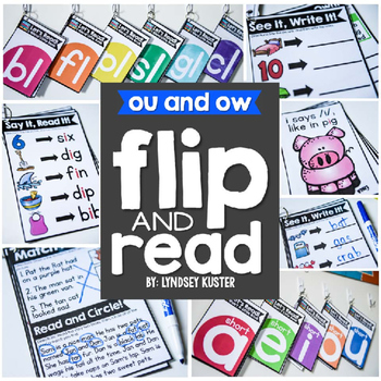Flip and Read! {ou and ow}