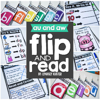 Flip and Reads! {au and aw}