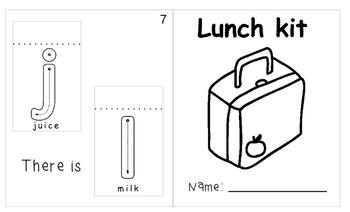Flip book - Lunch kit - ESL