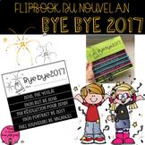 Flip book du Nouvel An // French New Year's Flip Book (1e à 2e année)