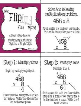 Flip for Math: Multiplication