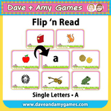 Flip 'n Read: ABC Phonics A - 10 page version