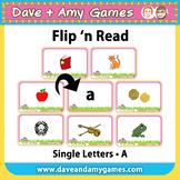 Flip 'n Read: ABC Phonics A