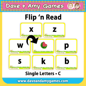 Flip 'n Read: ABC Phonics C