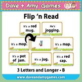 Flip 'n Read: CVC phonics B
