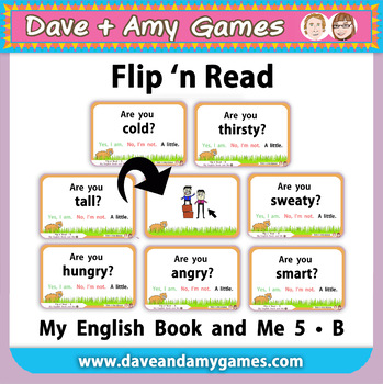 Flip n' Read: My English Book and Me 5  Set B