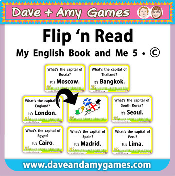 Flip 'n Read: My English Book and Me 5 Set C