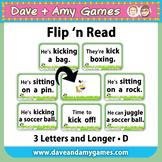 Flip 'n Read: CVC phonics D