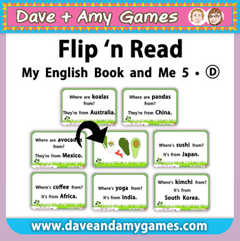 Flip 'n Read: My English Book and Me 5 Set D