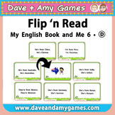 Flip 'n Read: My English Book and Me 6 Set D