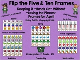 Flip the 5 and 10 Frames April Set