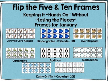 Flip the 5 and 10 Frames January Set