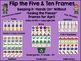 Flip the Five and Ten Frames January-April Bundle Set