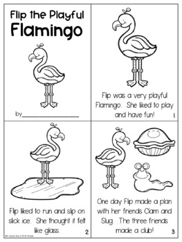Flip the Playful Flamingo {L-Blends!}