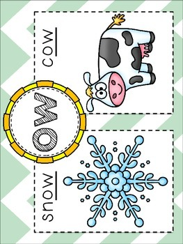 Flip the Sound: OW {like in snow + in cow}