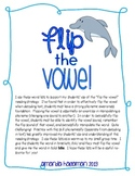 Flip the Vowel Phonemic Awareness Word Lists