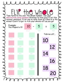 Flip the Whole - A game to consolidate subtraction using doubles.