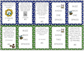 Spring Math Review Game - Test Prep