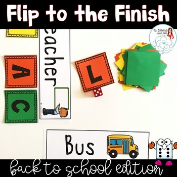 Flip to the Finish: Back to School