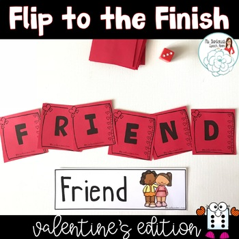 Flip to the Finish: Valentine's
