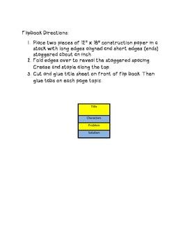Flipbook- Basic Story Elements