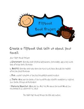Flipbook Book Report Project