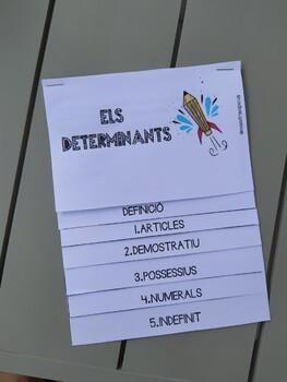 Flipbook Els determinants CATALÀ