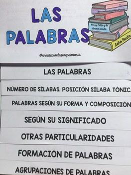 Flipbook Las palabras