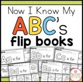 Alphabet Flipbook Printable {Now I Know My ABC's Series}
