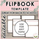 Flipbook Template | Editable | No Cutting