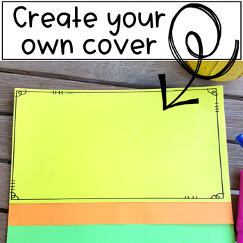 Flipbook Template for ANY Subject  {EDITABLE}