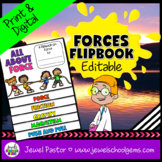 Force and Motion Activities (Force and Motion Flipbook EDITABLE)