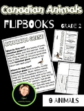 Flipbooks {Canadian Animals}  GRADE 2