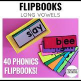 Flipbooks Phonics Long Vowels