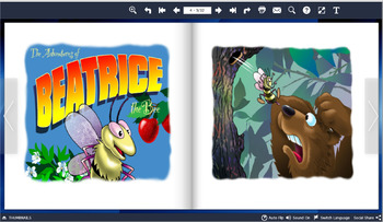 Flipbooks Mac app: Declining bee population, helping wildlife and climate change