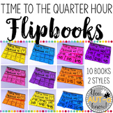 Flipbooks for Telling Time to the Quarter Hour