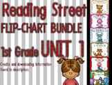Flipchart BUNDLE: Reading Street 1st Grade UNIT 1