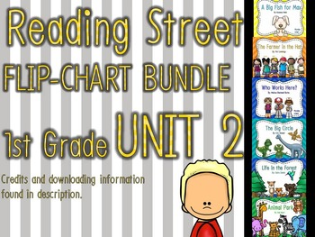 Flipchart BUNDLE: Reading Street 1st Grade UNIT 2