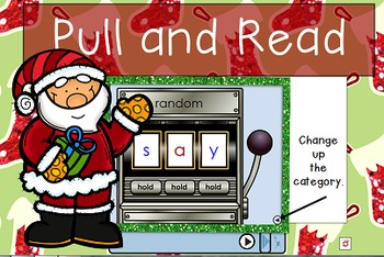 Flipchart-Christmas Whole Group Reading for Kindergarten